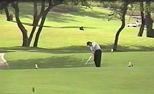 マウイ島にあるワイレア・ゴルフクラブにて