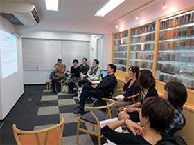 現座漢方塾開催の様子