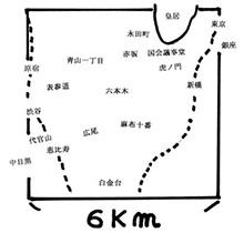 東京らしい東京の範囲