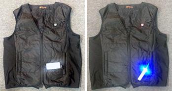 電熱入りジャケット