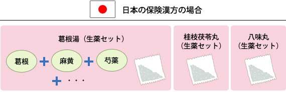 日本の保険漢方