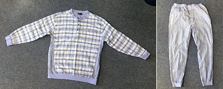 播州ちぢみのパジャマ