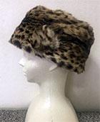 内モンゴルで買った山猫の毛皮の帽子